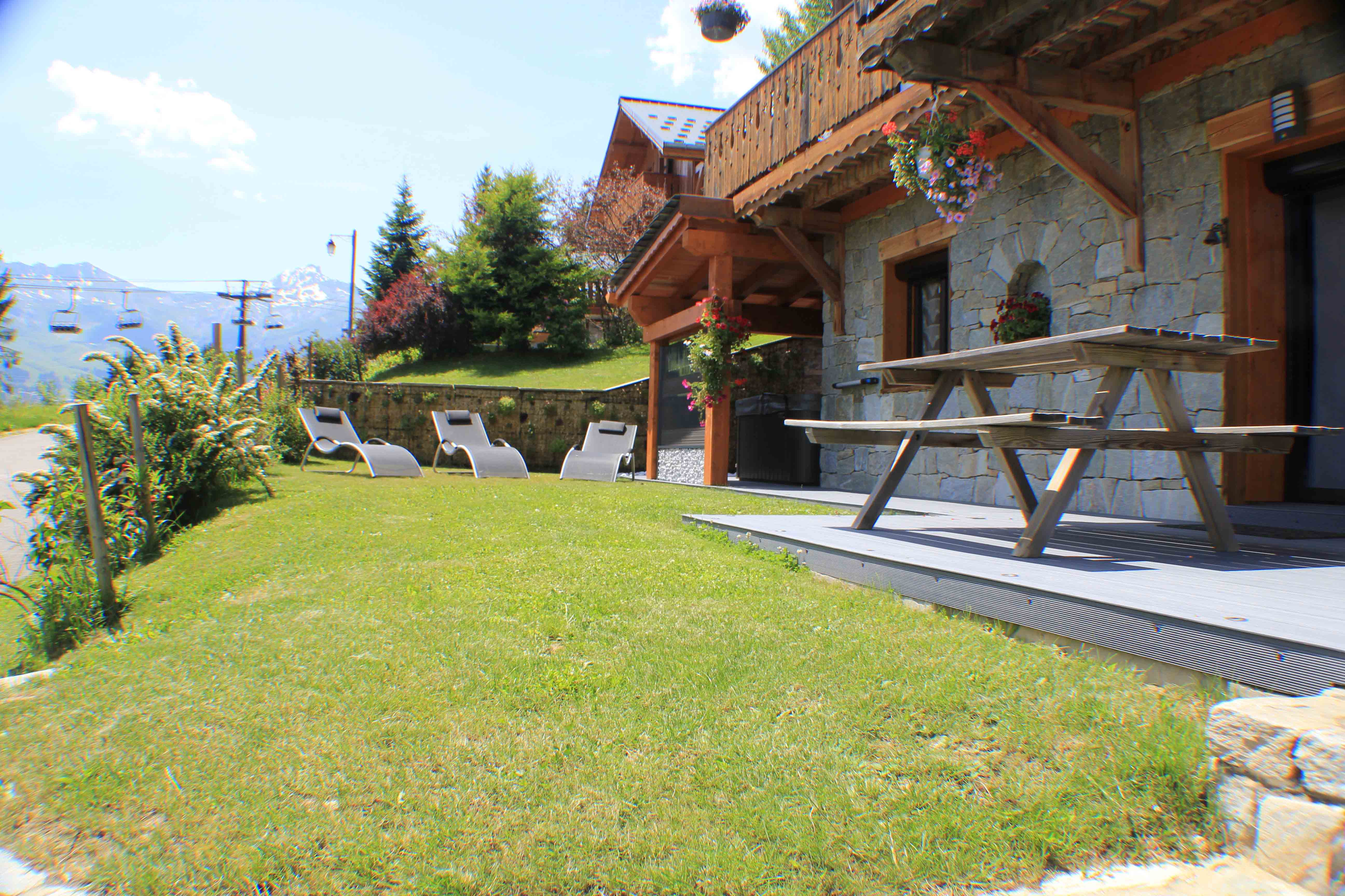 Doucy Valmorel chalet hire